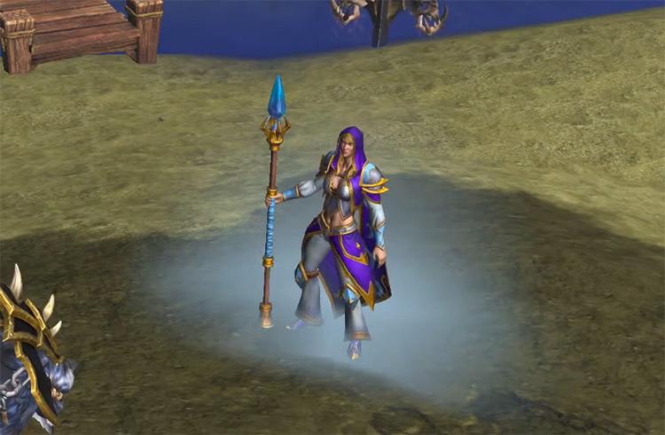 Jaina Proudmoore in Warcraft III: Reforged