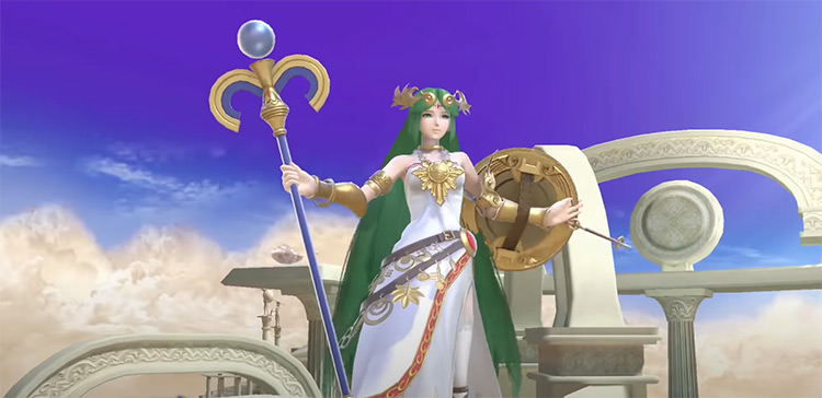 Palutena in Super Smash Bros. Ultimate
