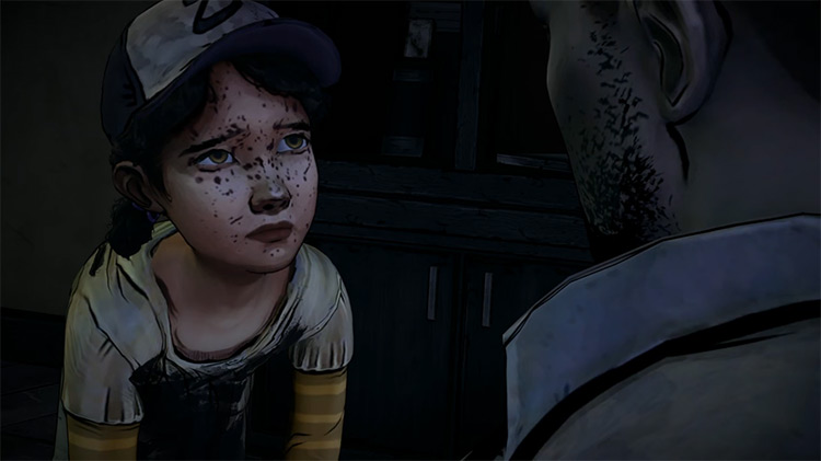 Clementine in The Walking Dead Game Remastered