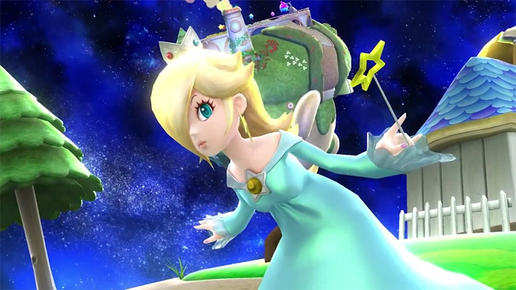 Rosalina in Super Smash Bros. Wii U & 3DS