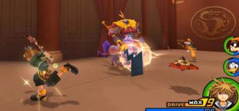 Kingdom Hearts 2.5 HD Battle in Land of Dragons