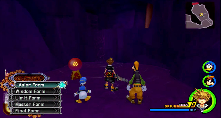 All drive forms menu in KH 2.5 HD