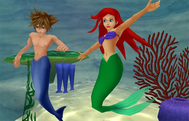Atlantica with Sora and Ariel / KH 2.5 HD Screenshot