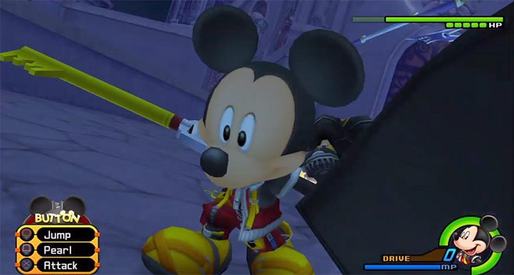 Mickey battle save against Xigbar / KH 2.5 HD