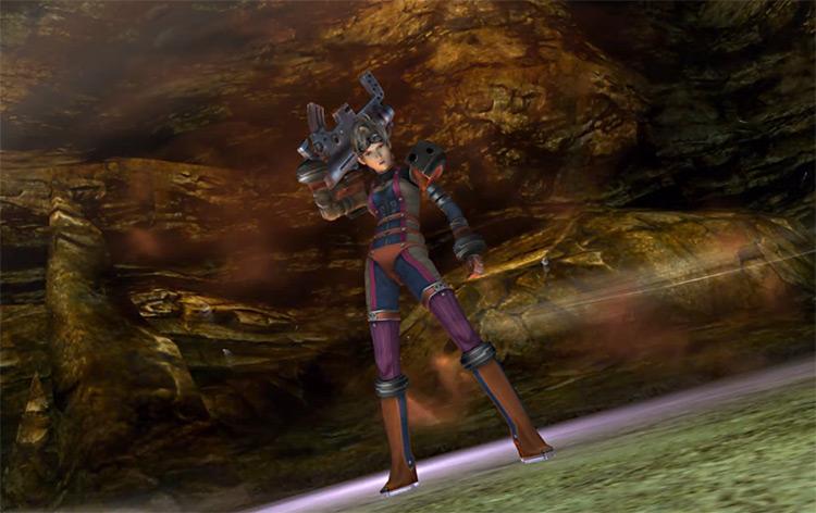 Paine in Alchemist Dressphere Screenshot / FFX-2 HD