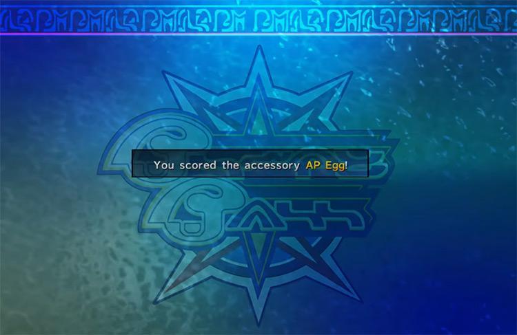 FFX-2 HD Scored accessory AP Egg from Blitzball