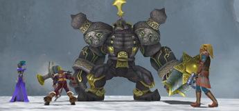 Mount Gagazet Battle Screenshot from FFX-2 HD