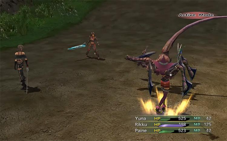 Moonflow battle from FFX-2 HD