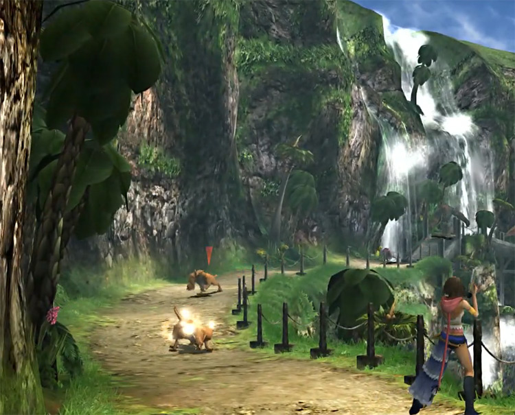 Yuna Gunners Gauntlet Screenshot from FFX-2 HD