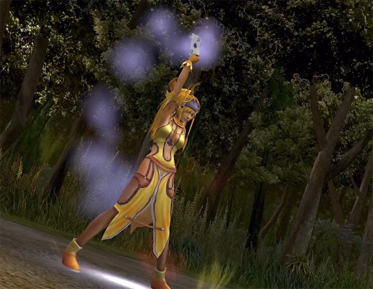 Rikku in Lady Luck Dressphere / FFX-2 HD