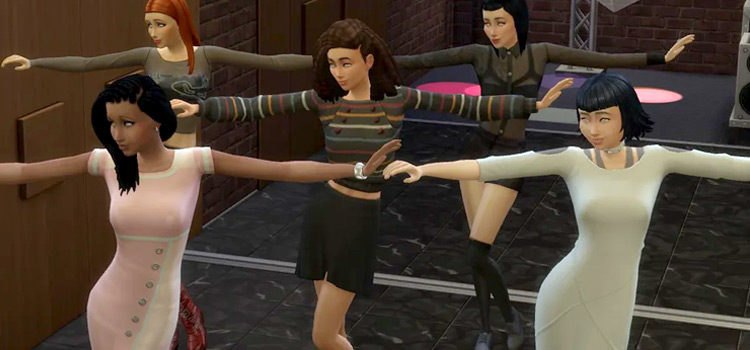Sims 4 Dance Clothes CC: Club Dancing, Aerobic Dance & More