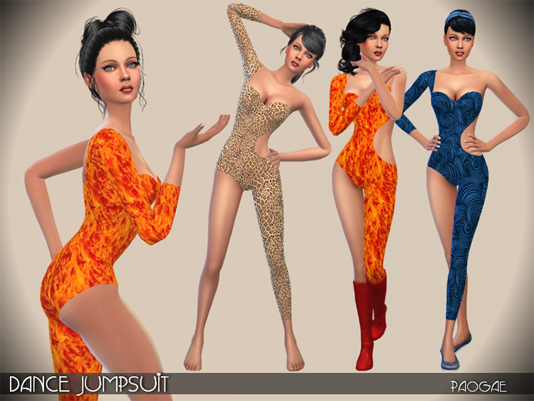 Skinny Jumpsuit CC for The Sims 4