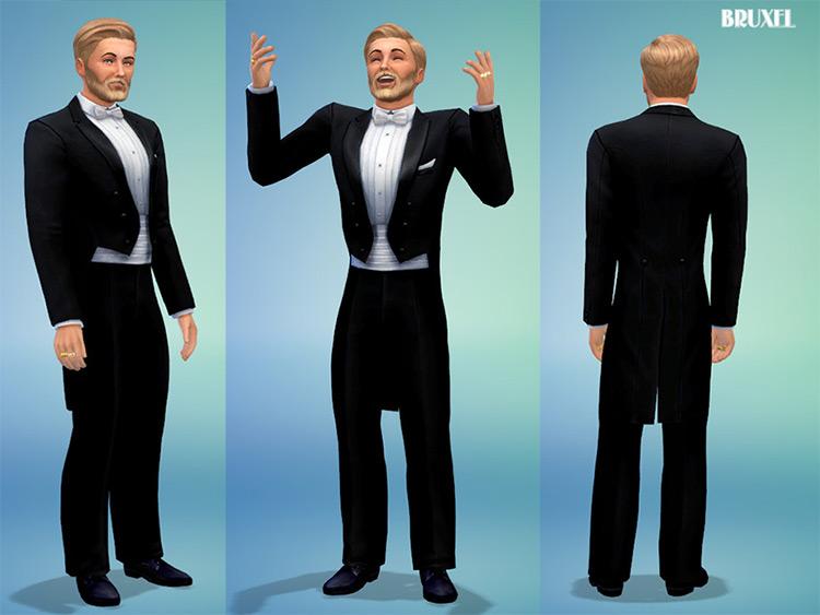 Sims 4 Ballroom Tuxedo CC