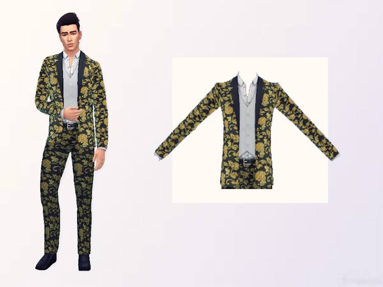 Dolce Gabbana dancing suit for TS4