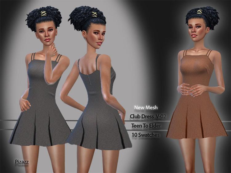 Club dancing dress / Sims 4 CC