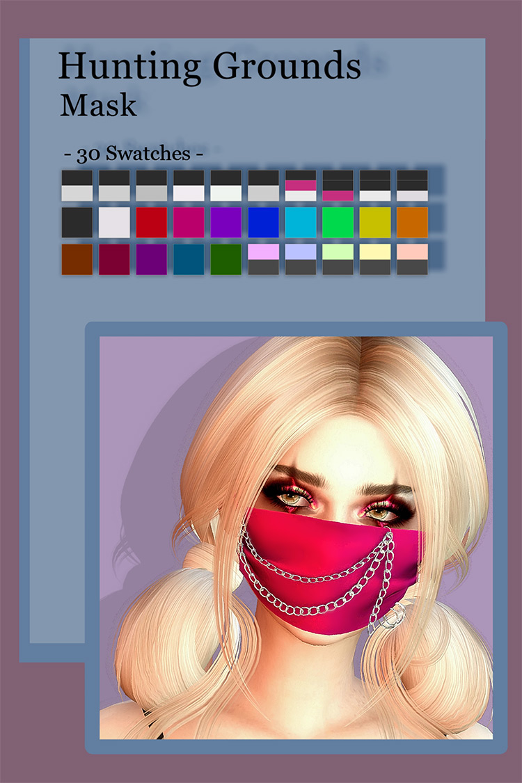 Hunting Grounds Mask / Sims 4 CC