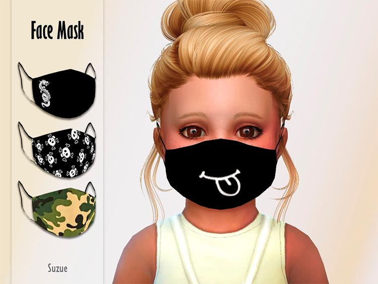 Toddler Face Mask / Sims 4 CC