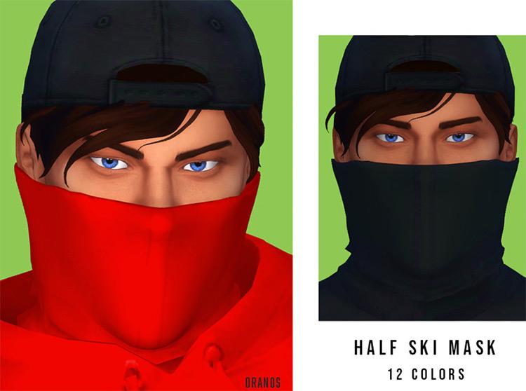 Half Ski Mask / Sims 4 CC