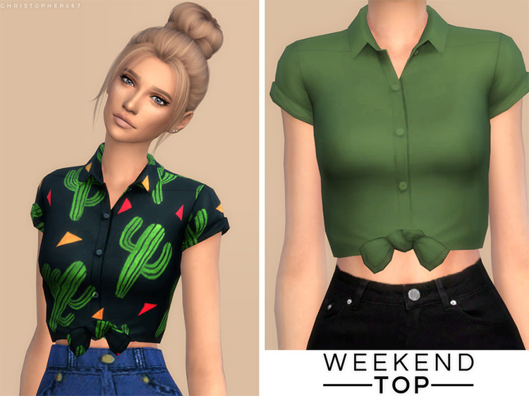 Weekend Top / TS4 CC