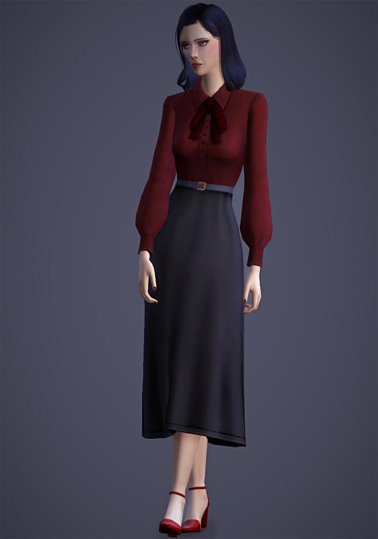 Belle Blouse / Sims 4 CC