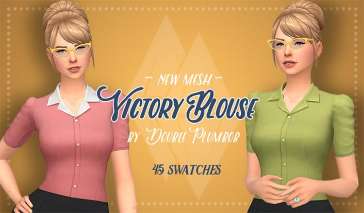 Victory Blouse / TS4 CC
