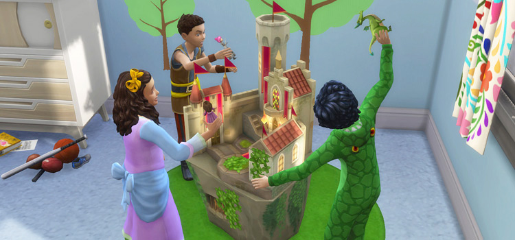 Castle Playset Toys in The Sims 4