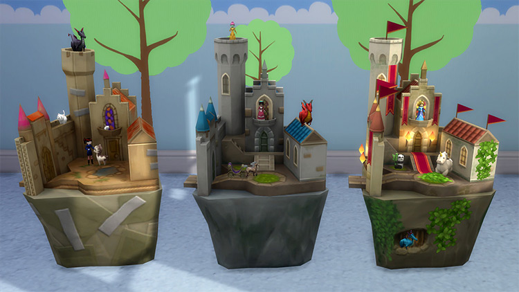 Castle Playsets for The Sims 4