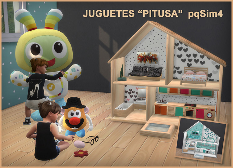 Pitusa Toys for The Sims 4