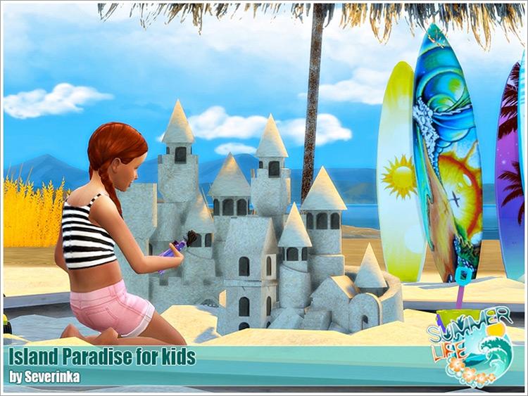 Island Paradise For Kids / TS4 CC