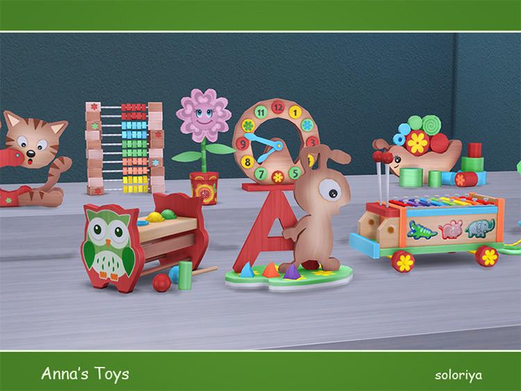 Anna's Toys Pack / Sims 4 CC