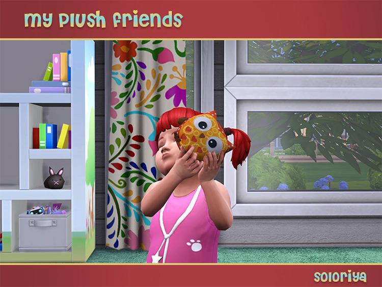 My Plush Friends Owl / TS4 CC