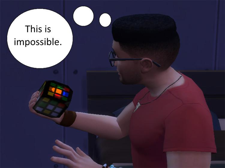 Rubik's Cube CC for TS4