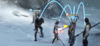 FF12 party targeting an enemy in The Zodiac Age
