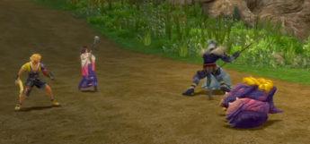 Kimahri Stealing in Moonflow battle / Final Fantasy X HD