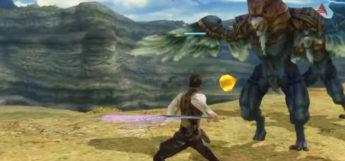 Shikari Balthier Ninja Sword battle screenshot / FFXII HD