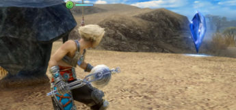 Vaan holding a measure in Final Fantasy XII: The Zodiac Age