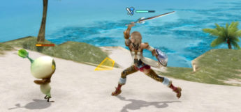 Ashe swinging sword as a knight in Final Fantasy XII: The Zodiac Age