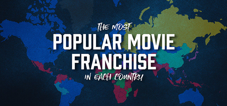 The Most Popular Movie Franchises From Each Country