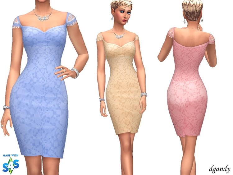 Dgandy's Dress / Sims 4 CC