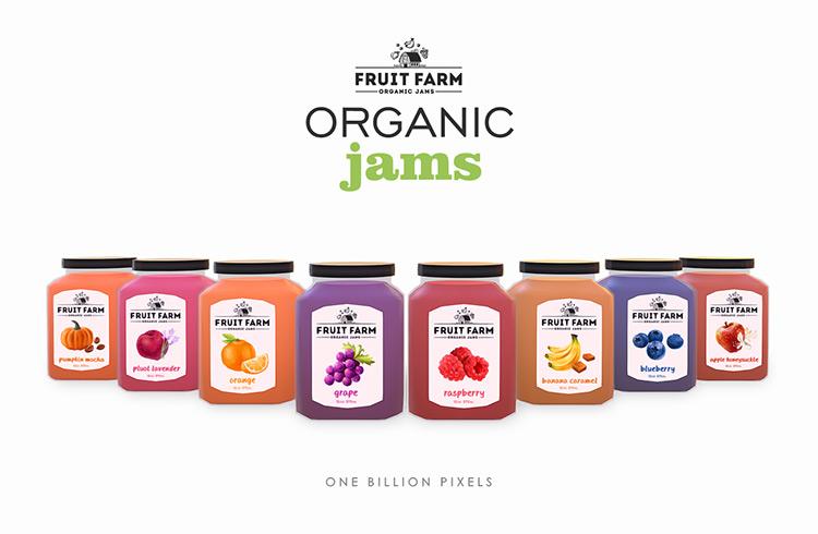 Fruit Farm Organic Jams / TS4 CC