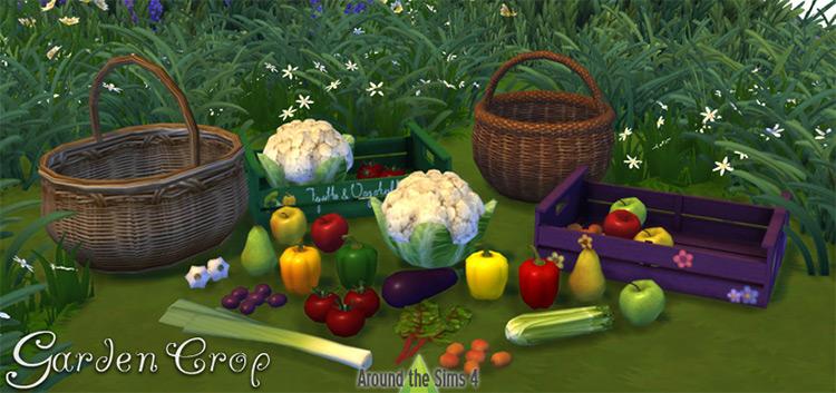 Garden Crop Set / Sims 4 CC