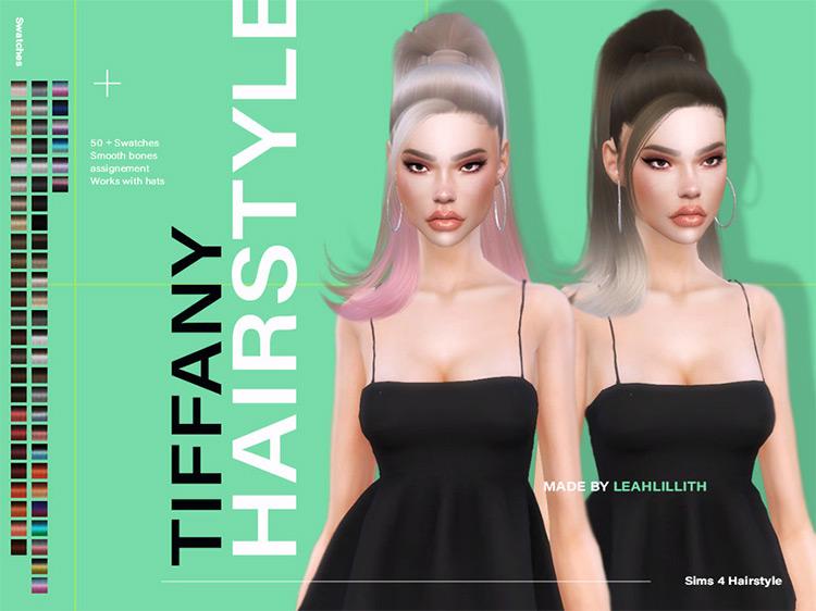 Tiffany Hairstyle Sims 4 CC