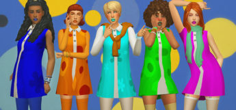 Sims 4 CC: Best 1960s Clothes, Hair & More