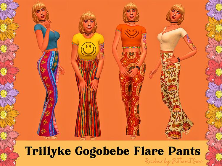 Trillyke GogoBebe Flare Pants / Sims 4 CC