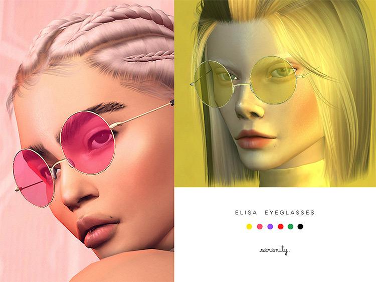 Elisa Glasses / Sims 4 CC