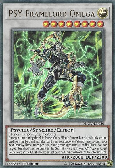 Psy-Framelord Omega Yu-Gi-Oh Card