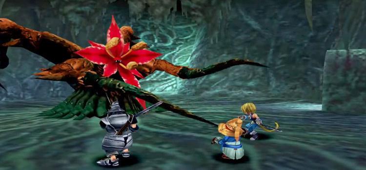 Zidane Evil Forest FF9 HD Battle Screenshot