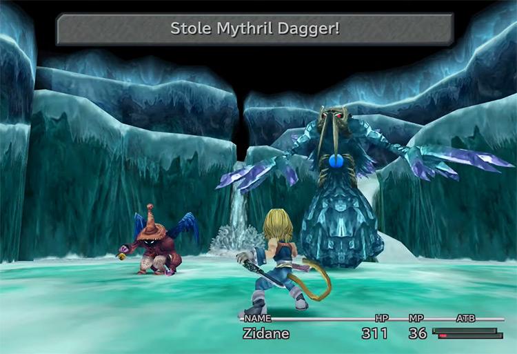 Mythril Dagger Steal in FF9