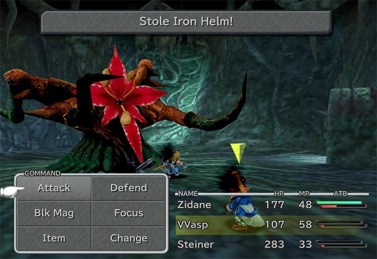 Iron Helm FFIX Steal