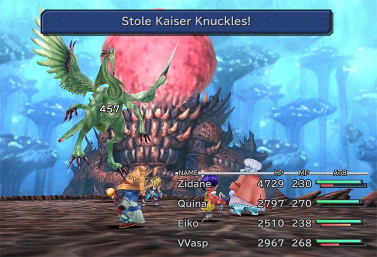 Kaiser Knuckles FFIX Steal